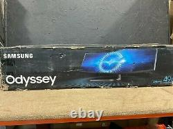 Samsung CHG90 49 Curved LED LCD Display (Dual HD) LC49HG90DMNXZA New Open Box