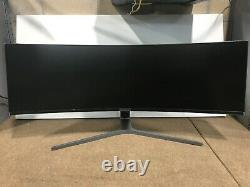 Samsung CHG90 49 Curved LED LCD Display (Dual HD) LC49HG90DMNXZA Open Box New