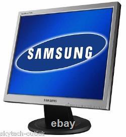 Samsung HP LG 17 Flat LCD TFT Monitor VGA PC Computer Display Screen Grade A