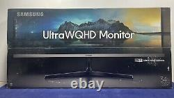Samsung LS34J552WQNXZA 34 75Hz Ultra Widescreen LCD Monitor 3440 x 1440 Display