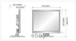 Samsung SMT-1935 HD 19 LED Flat Screen CCTV LCD MONITOR VGA BNC HDMI TV Display