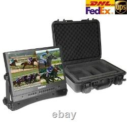 SeeTec ATEM156 15.6 Full HD IPS Broadcast Monitor with Carrying Case