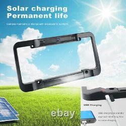 Solar Powered Rear View Backup Camera 4.3 Monitor Display Kit For Car Truck RV