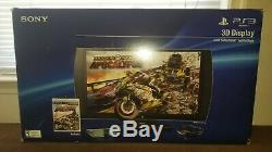 Sony Playstation 3D TV Monitor Display LCD Flat Panel 24 1080p PS3