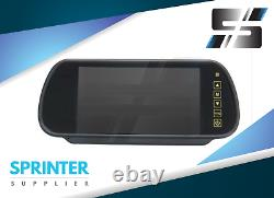 Sprinter Rear View Camera 3rd Brake Light and Monitor w 7 Display for Mercedes