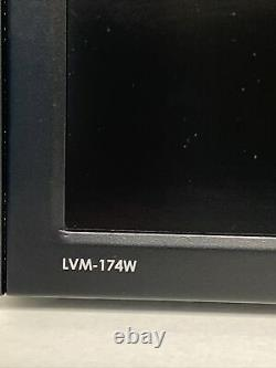 TV Logic lvm174 17inch rack mounted monitor with HDSDI, waveform