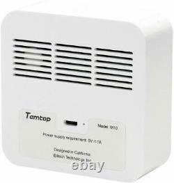 Temtop M10 Air Quality Tester HCHO PM2.5 TVOC AQI Monitor Tester LCD Display