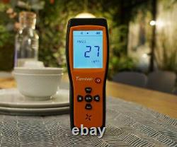 Temtop P200 Air Quality Laser Particle Monitor Detector PM 2.5 PM 10 LCD Display