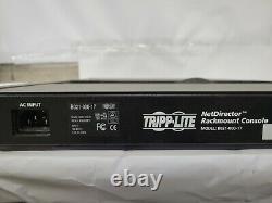 Tripp Lite Rackmount Console 17 LCD Display, Full Keyboard B021-000-17 NO RAILS