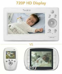 Video Baby Monitor with Large 5 HD LCD Display 720P Digital Camera Power Saving