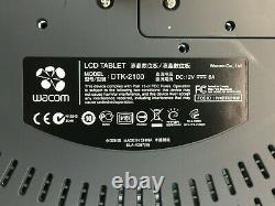 Wacom Cintiq 21UX DTK-2100 Artist Interactive LCD Touch Monitor Graphics Display