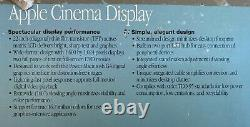 Working in OEM Box Apple Computer 22 Cinema Display Monitor M5662 BH